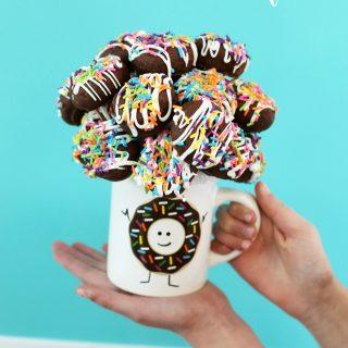 Donut Mug Bouquet