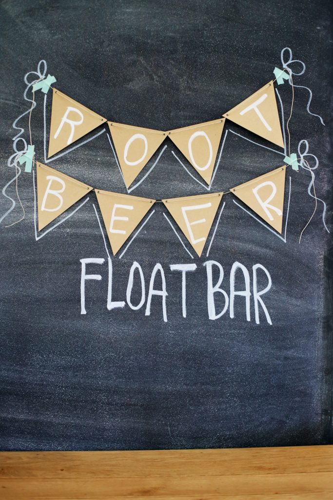 float bar backdrop