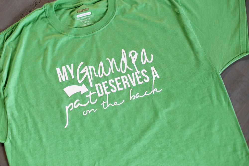 grandpa tee gift idea tshirt