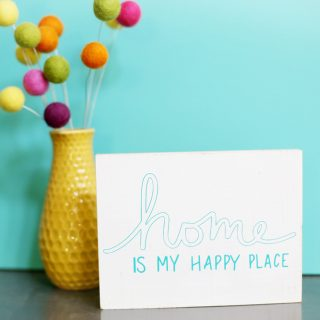 home is my happy place cut file vinyl