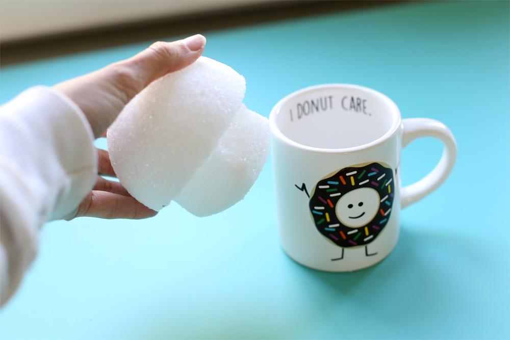 mug foam insert