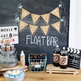 root beer float bar