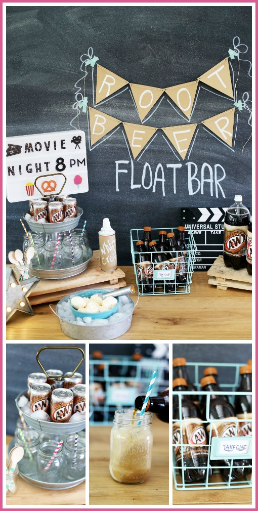 root beer rootbeer party bar idea