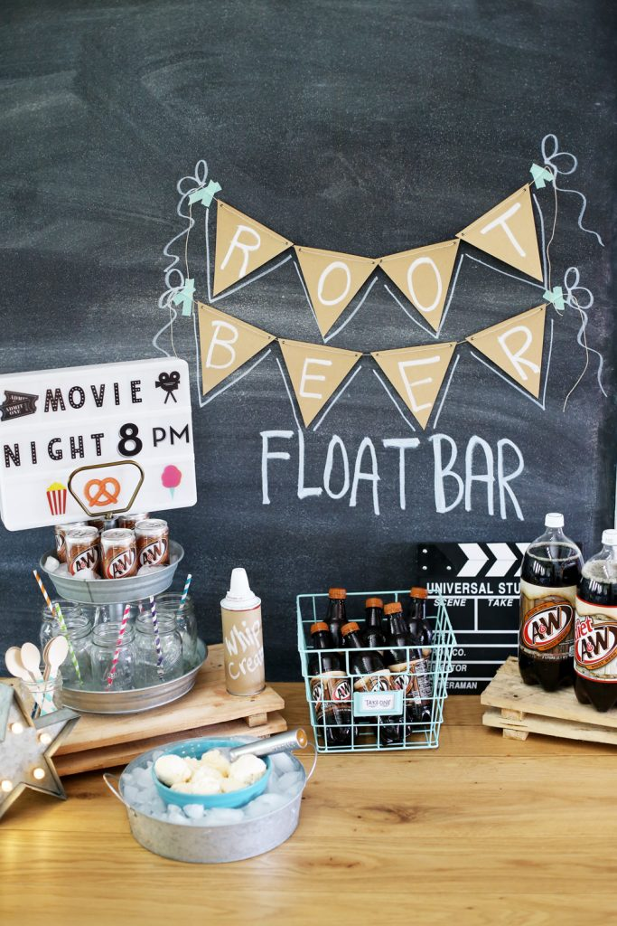 rootbeer float bar idea