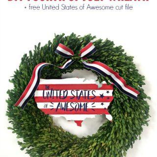 Diy fourth of july wreath hero