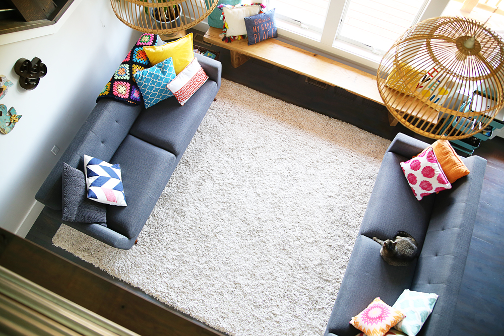 cleaning white rug carpet