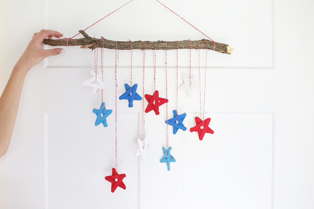 Craft Stick Stars