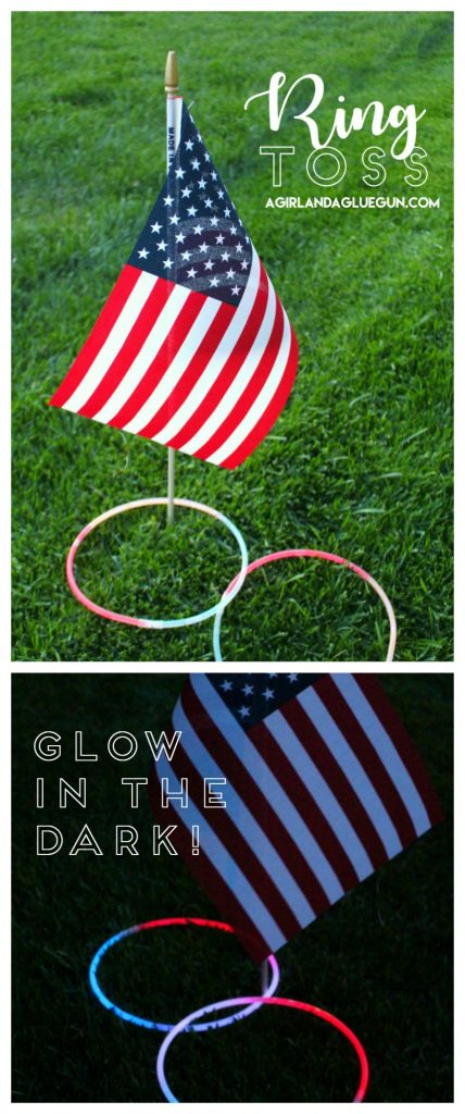 ring toss for 4th of July glow in the dark