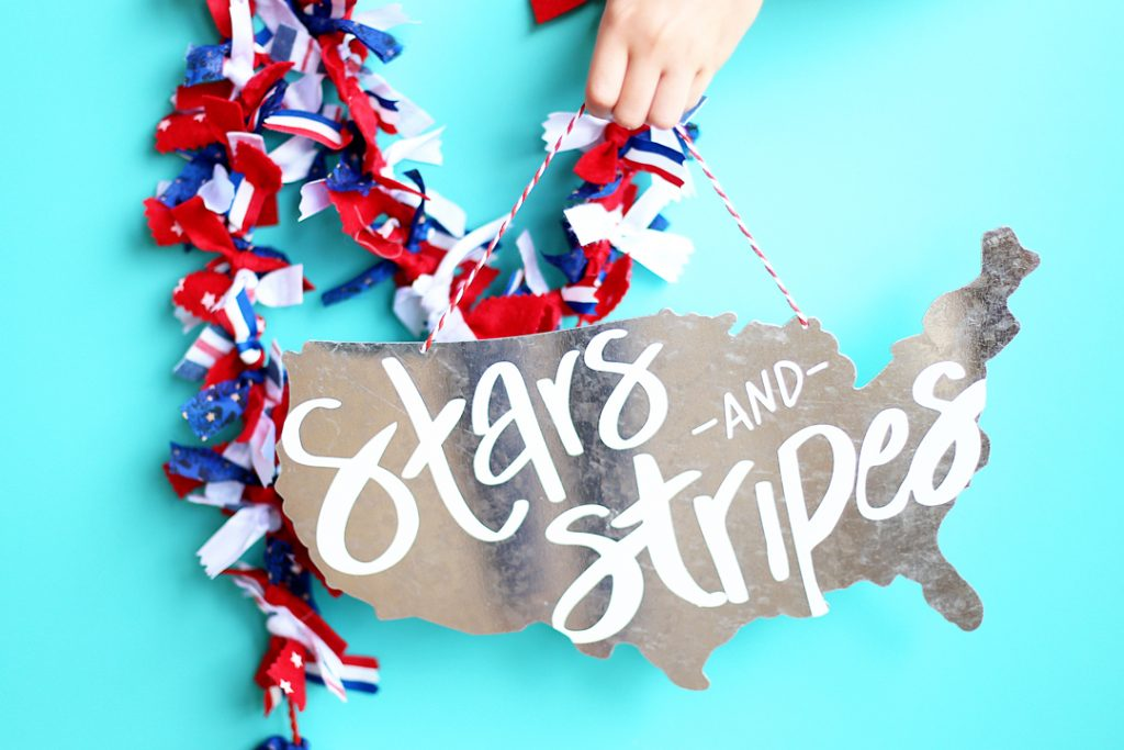 stars and stripes free cut file