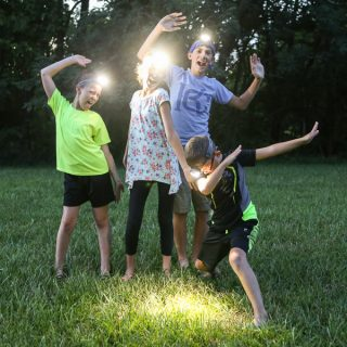 Nighttime Summer Family Fun