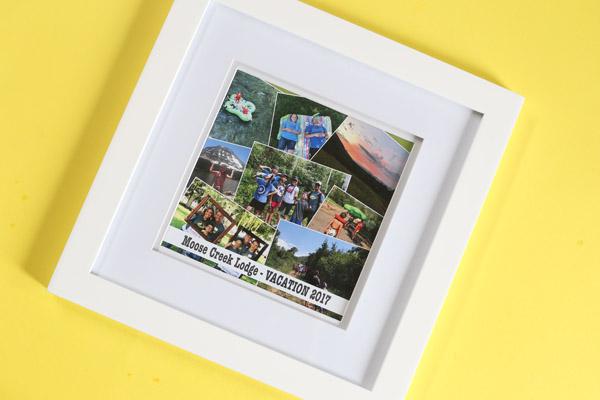 framed collage plain