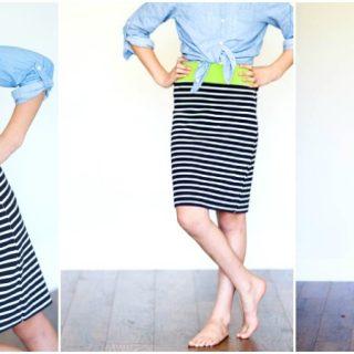 10 minute T-Shirt Skirt