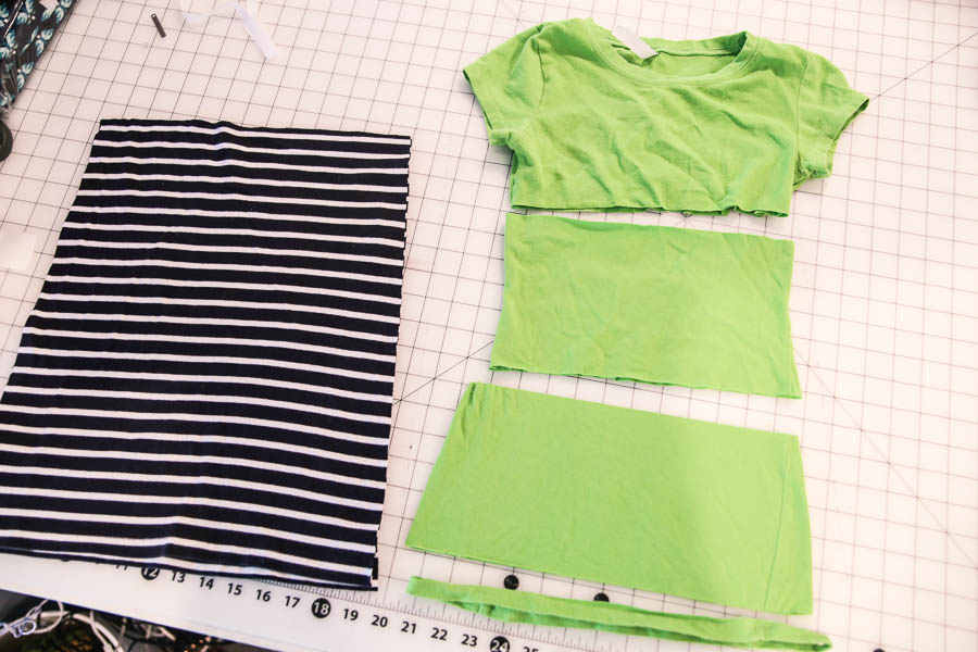 tshirt skirt tutorial-2
