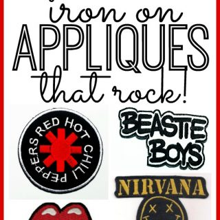 Iron on rock band