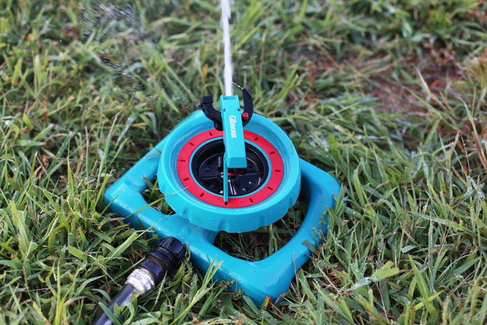 gilmour sprinkler review