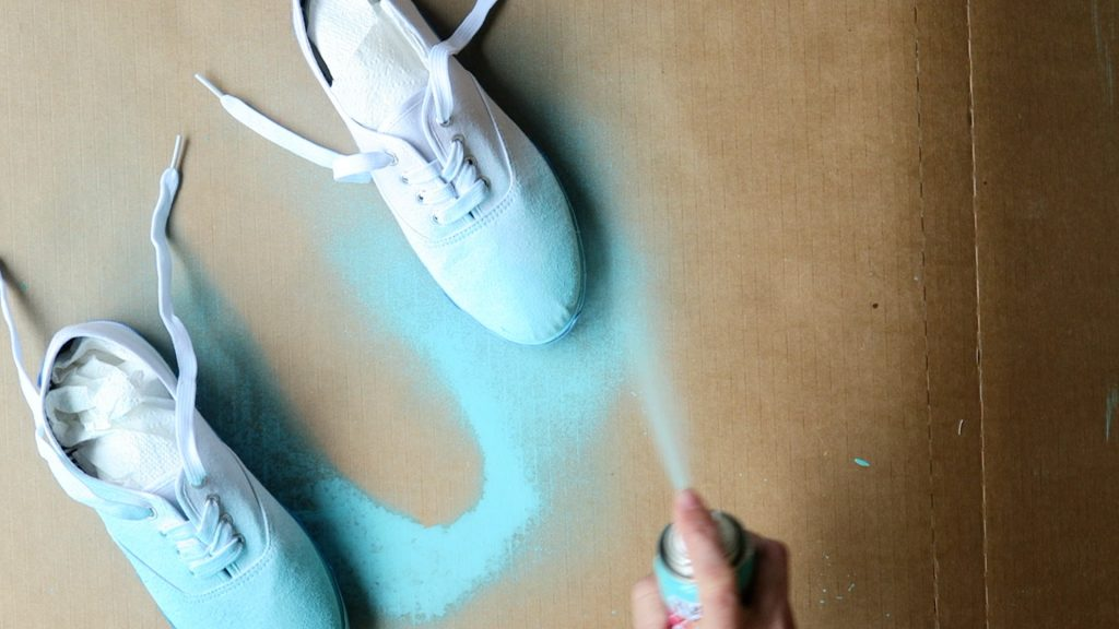 ombre shoes how to make diy