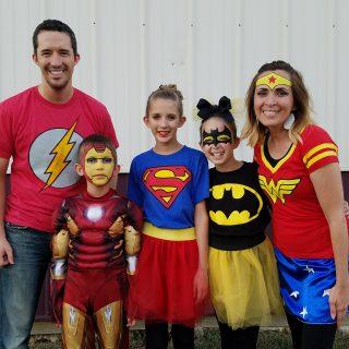 Family Costume Superheros