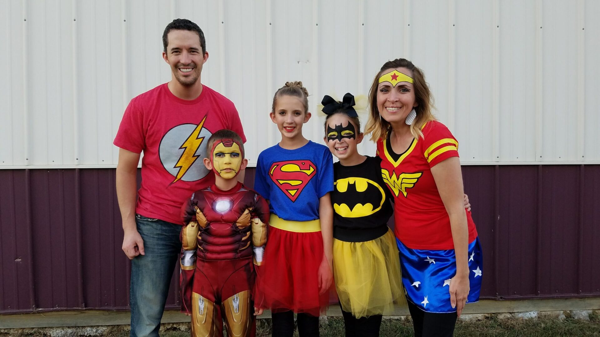 Family Costume Superheros Sugar Bee Crafts