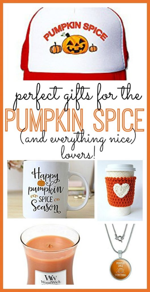 Perfect Gift's for Pumpkin Spice Lovers!