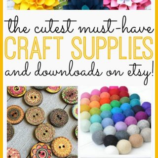 The Cutest Craft Supplies on Etsy