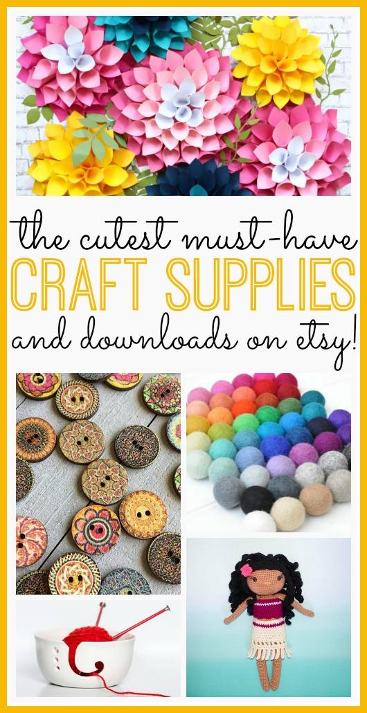 Etsy Craft Supplies