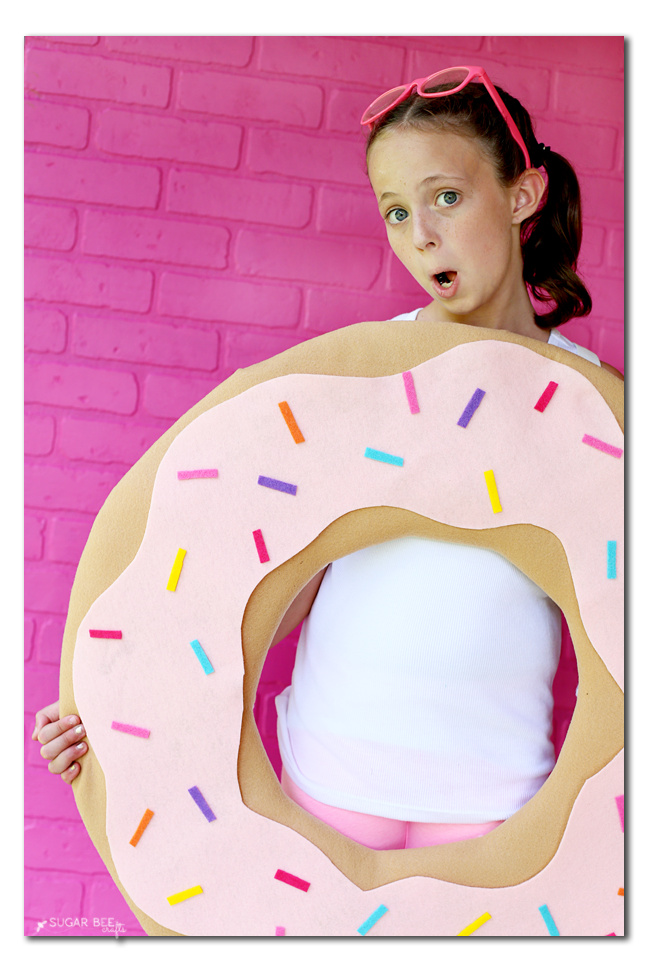 how to make a donut costume