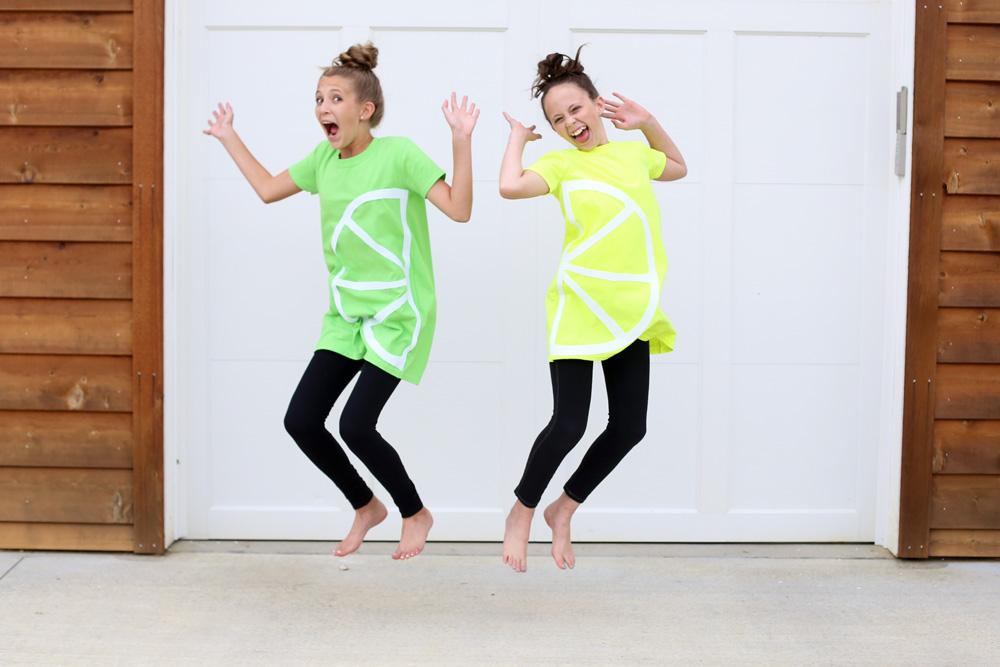 lemon lime jump costume