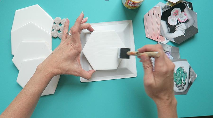 photo coaster tile craft-3