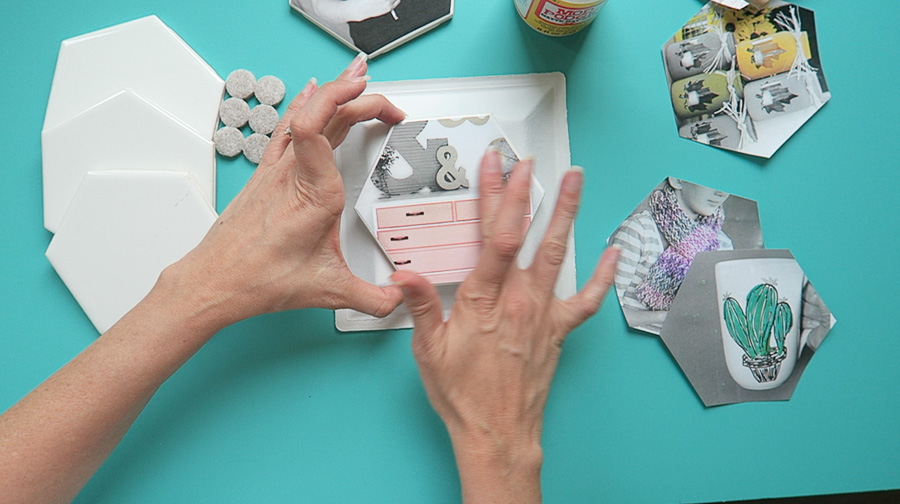photo coaster tile craft-4