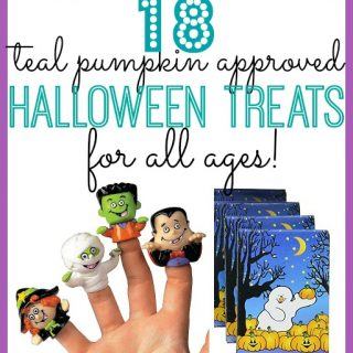 Teal Pumpkin Approved Treats for Trick-or-Treaters