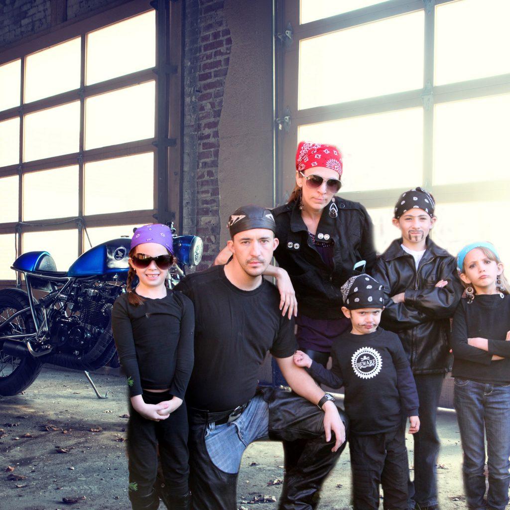 bikers backdrop