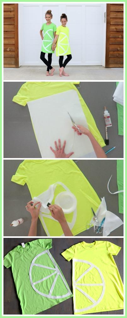 lemon lime costume tutorial