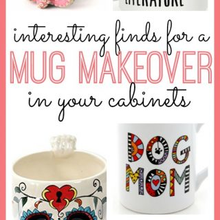 Mug Makeover for Your Cabinets!