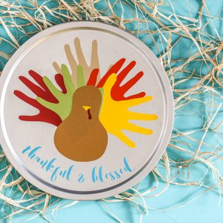 Vinyl turkey thanksgiving craft 4