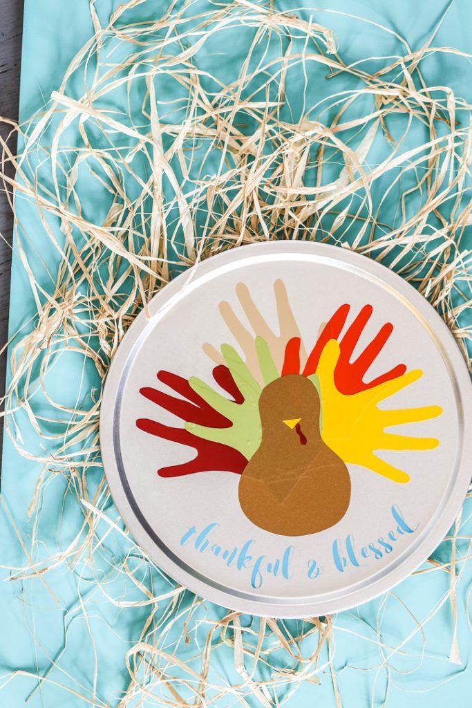 vinyl turkey thanksgiving craft-5
