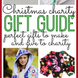 Christmas Charity Gift Guide to DIY and Give