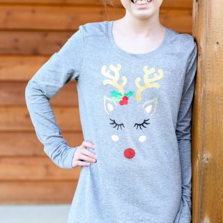Holiday Reindeer Tee