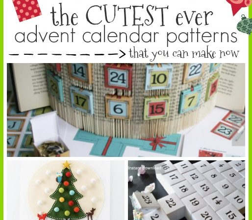 advent calendar pattern