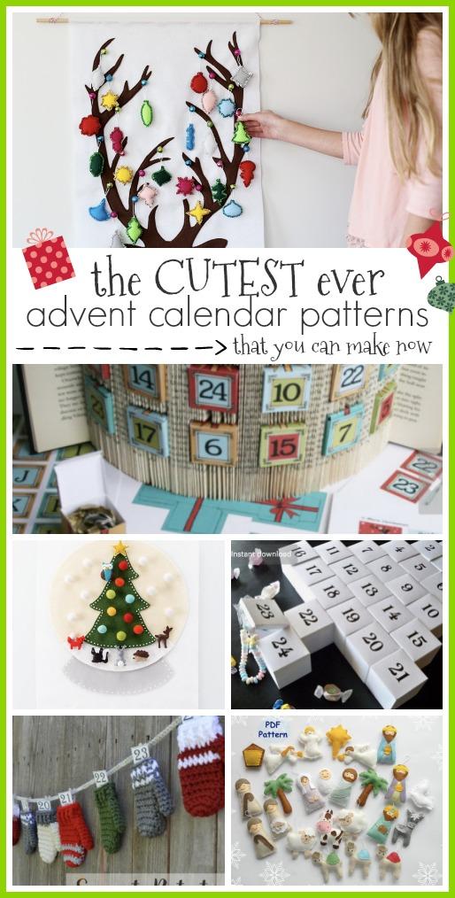 Cutest Advent Calendar Patterns