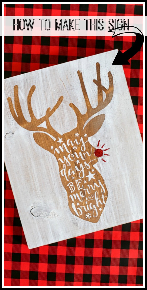 stained stencil board tutorial how to