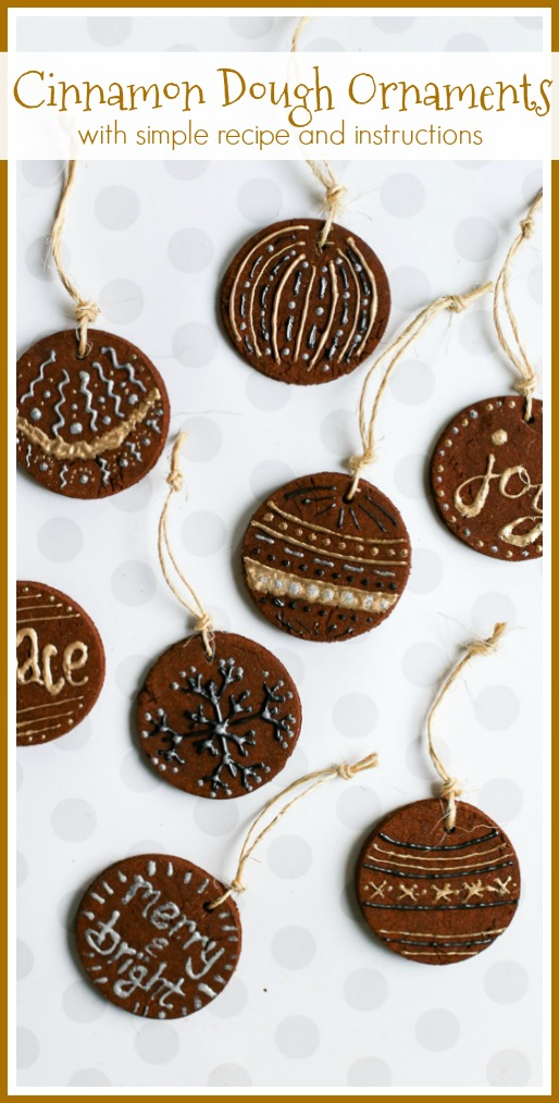 Diy Cinnamon Ornaments Sugar Bee Crafts