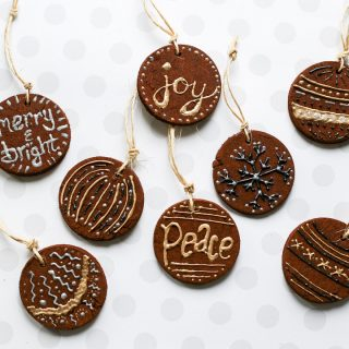DIY Cinnamon Ornaments
