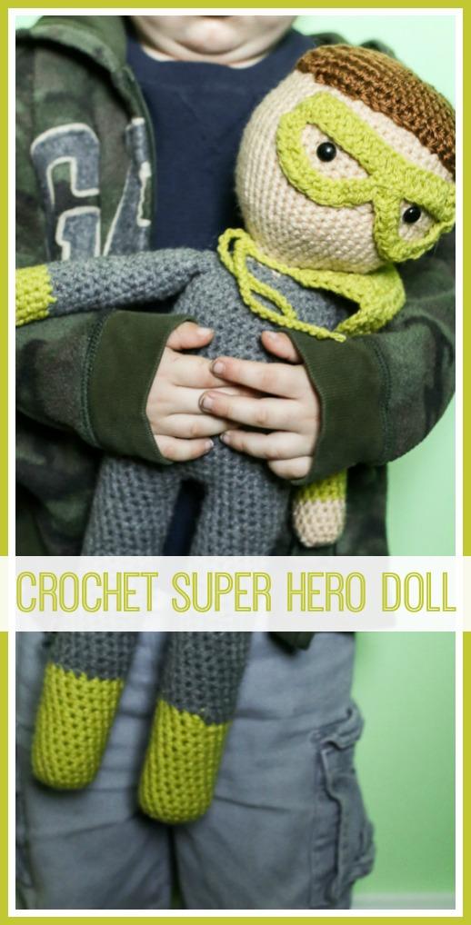 crochet doll for boys