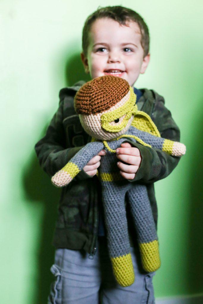 crochet superhero doll-1