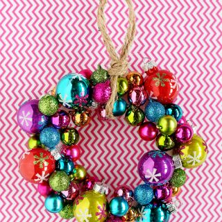 Mini Ornament Wreath