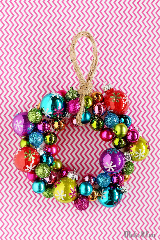 Mini Ornament Wreath Sugar Bee Crafts