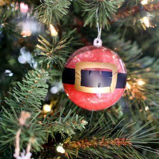 Slime santa ornament 1