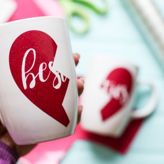 Galentines craft gift idea besties mug 2