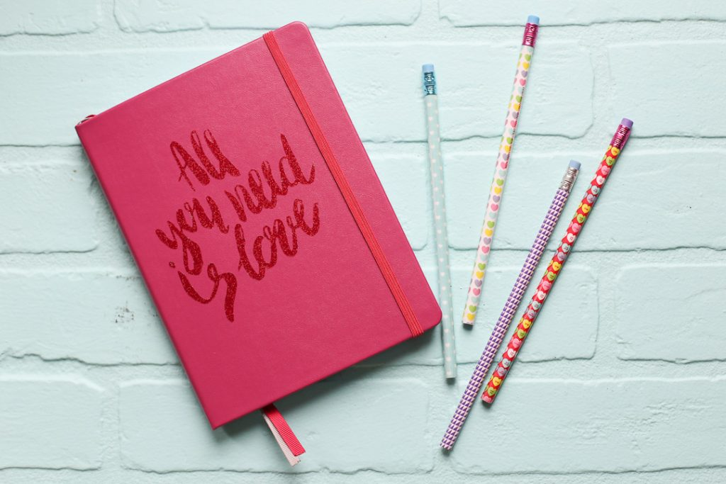 Valentine Notebook Gift Idea