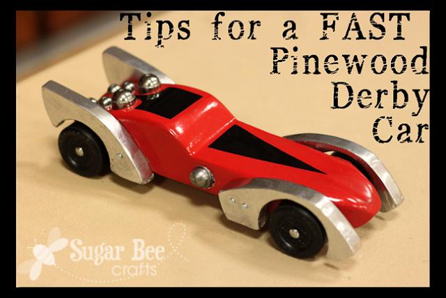 pinewood derby tips tricks how to make your car faster. Black Bedroom Furniture Sets. Home Design Ideas